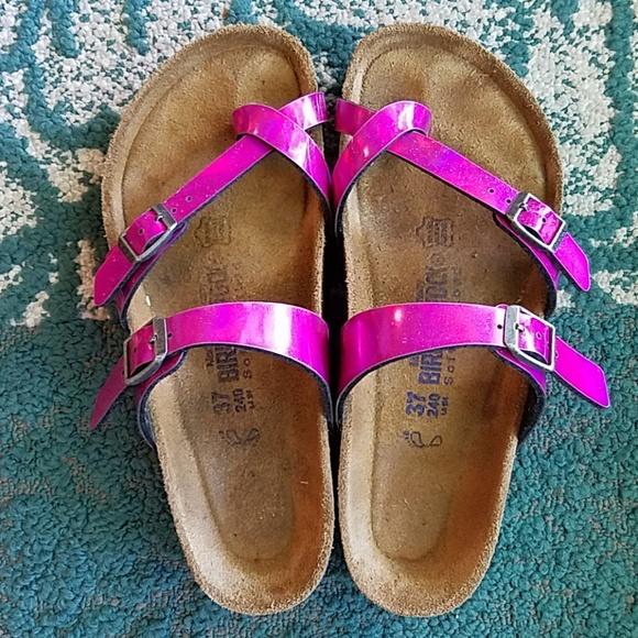 f19c9c230bd44 Birkenstock Shoes - !RARE!  PINK  Birk Mayari Sandals 37 240